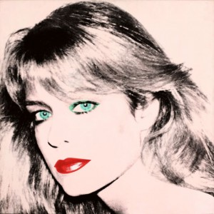 Farrah-Fawcett-Portrait-by-Andy-Warhol