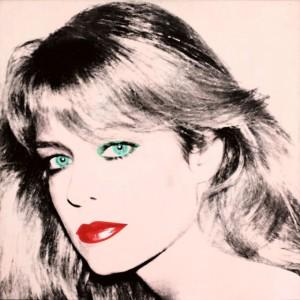 Andy Warhol Farrah Fawcett painting