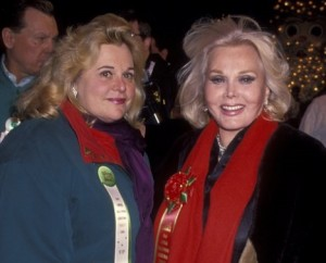 Zsa Zsa Gabor and Francesca Hilton